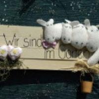 Bild zum Weblog Wir sind im Garten