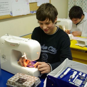 Bild zum Weblog Nähmaschinen