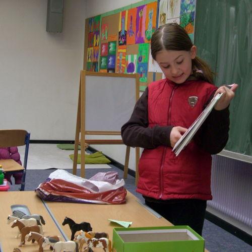 Bild zum Weblog Buchvorstellungen der Volksschüler