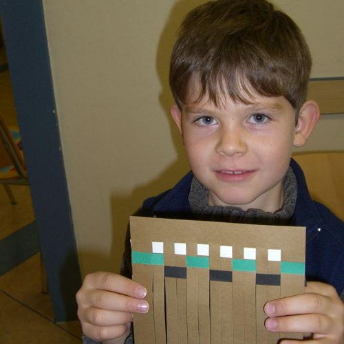 Bild zum Weblog Beim Nadelfilzen waren die Kinder besonders kreativ