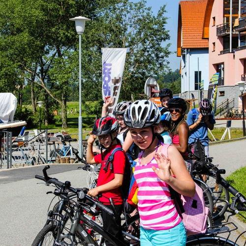 Bild zum Weblog Schullager HS Tag 2: Fahrradtour und Hitze