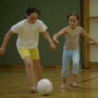 Bild zum Weblog Fußball – er rollt auch in unserer Schule