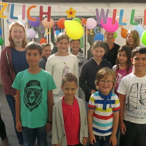 Bild zum Weblog Die Schule hat uns wieder!